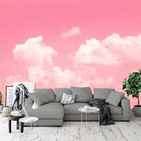 розово небе