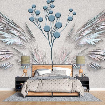 Фототапет Сребърни криле