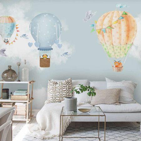 Фототапет Разходка с балони