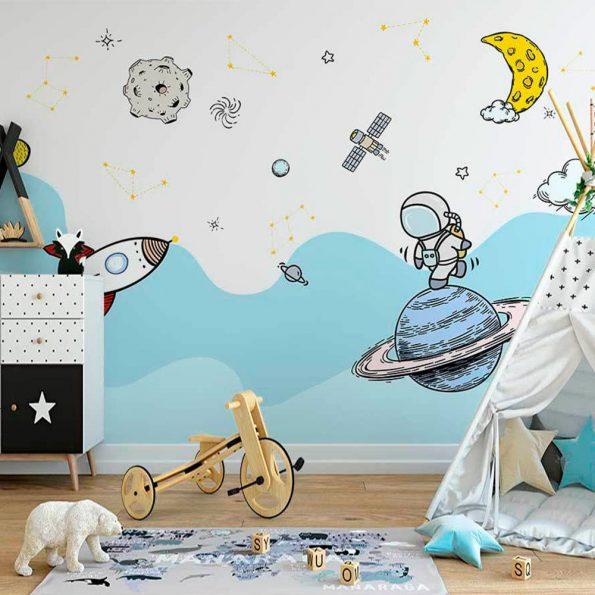 3D-detski-tapet-razhodka-v-kosmosa (1)