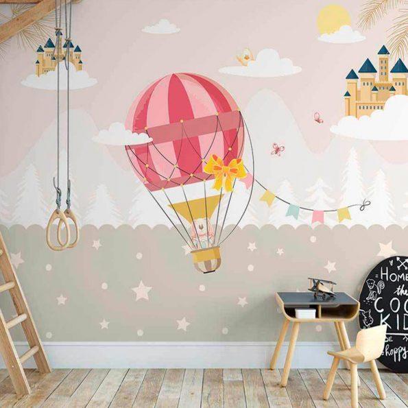 3d-detski-tapet-prikazen balon (2)