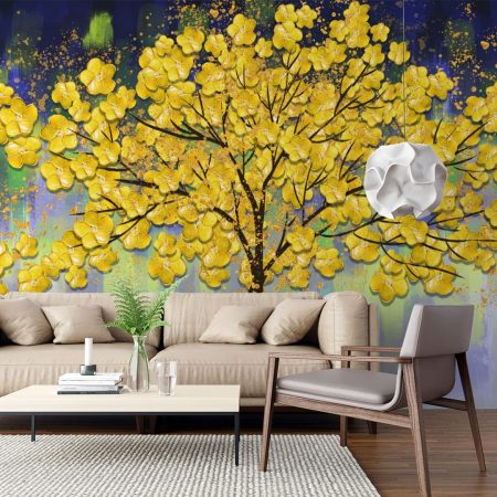 Фототапет Златно дръвче