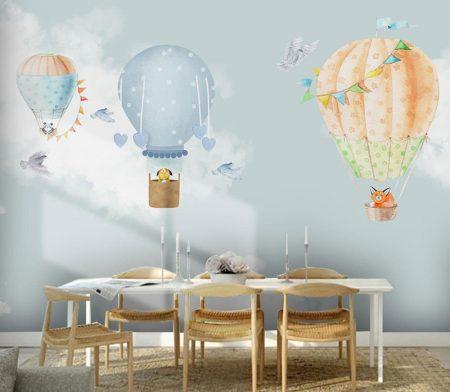 Фототапет Балони в небето