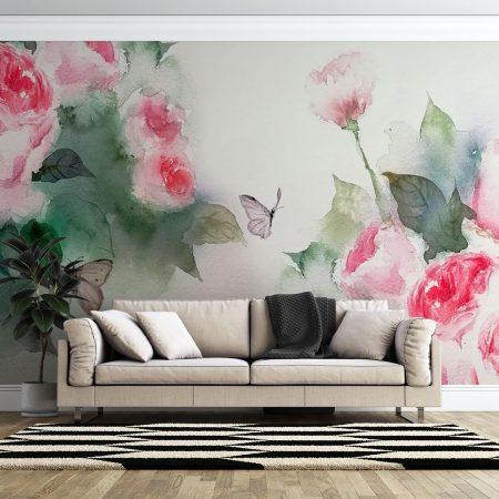 Фототапет Акварелни рози