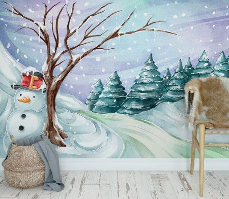 Фототапет Снежна приказка 2