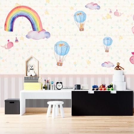 Фототапет Летящи балони 3