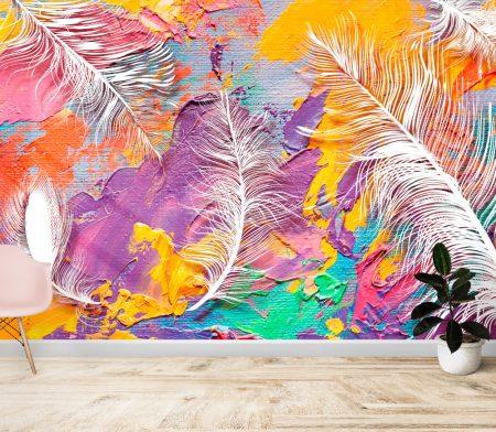 Фототапет Маслени цветове