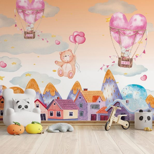 detski-fototapet-syrca-i-baloni (11)