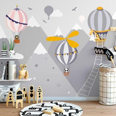 Фототапет Балони с перки