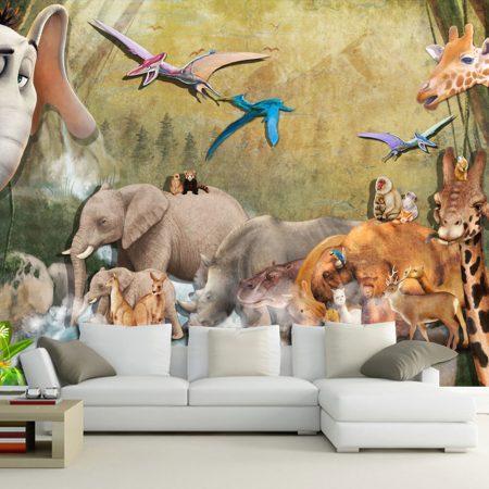 Фототапет Древни животни