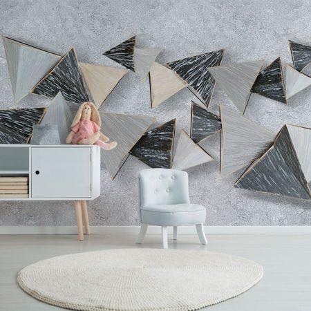 Фототапет Летящи пирамиди