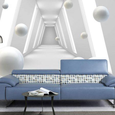Фототапет Перлени сфери
