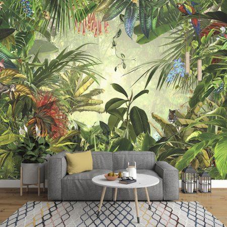 Фототапет Пъстра джунгла
