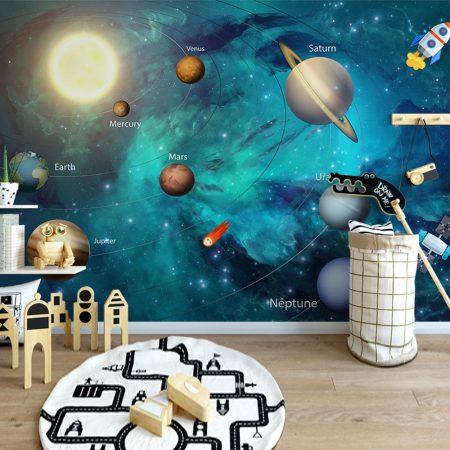 Фототапет Слънчевата система