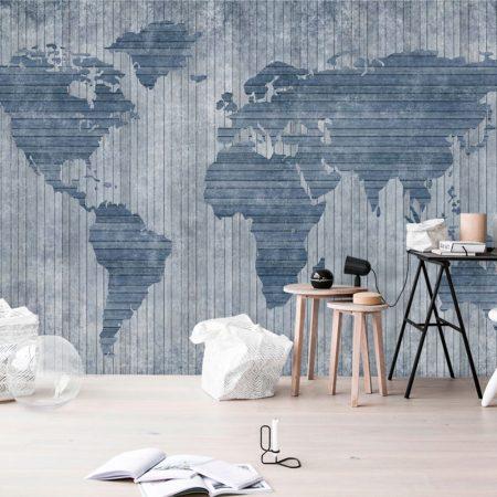 Фототапет Световна карта