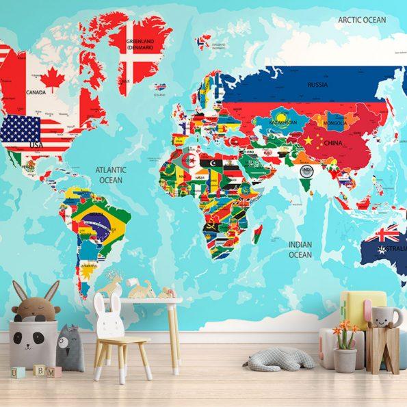 fototapet-svetovna-karta-sys-znamena (10)
