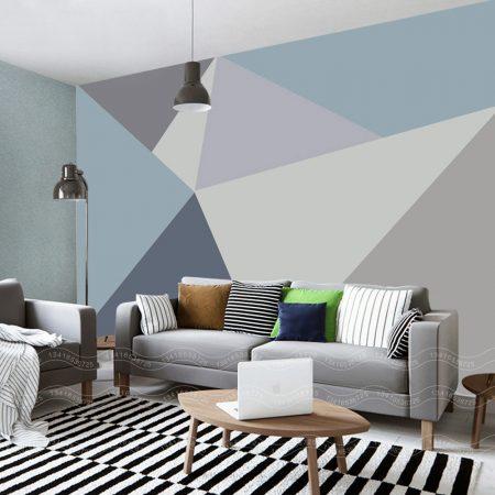 Фототапет Триъгълна мозайка 3
