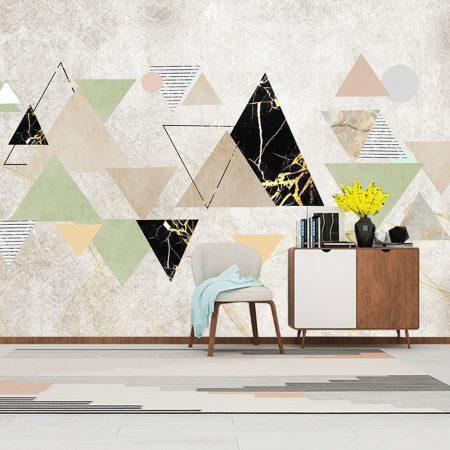 Фототапет Триъгълни Елементи