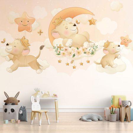 Тапет за детска стая - Лъвчето принц