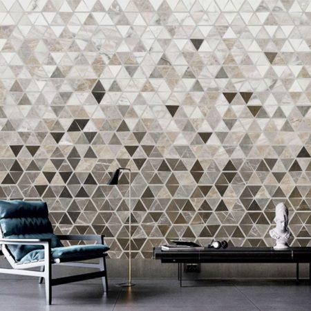 Фототапет Триъгълна мозайка 2