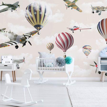 Самолети и балони