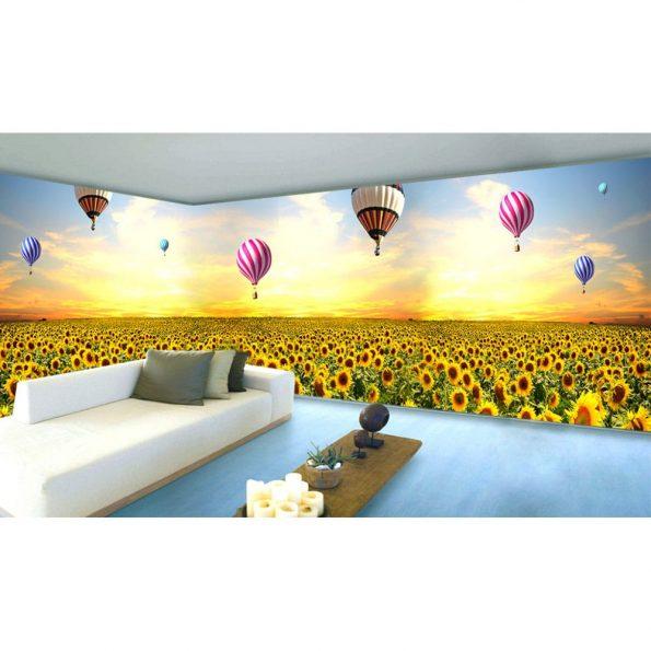 Балони над слънчогледи_2