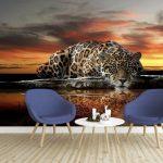 Фототапет Леопард _2