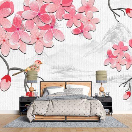 Фототапет Розови цветчета