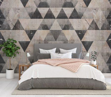 Фототапет Триъгълна мозайка