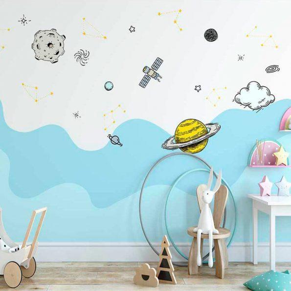 3D-detski-tapet-razhodka-v-kosmosa (2)