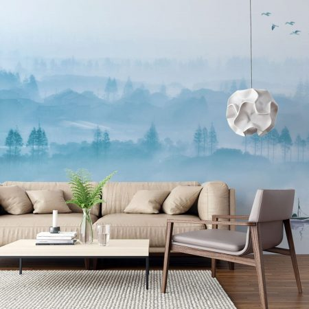 Фототапет Синя мъгла