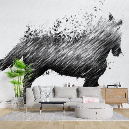 Фототапет Абстрактен кон