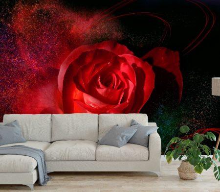 Фототапет Романтични цветя
