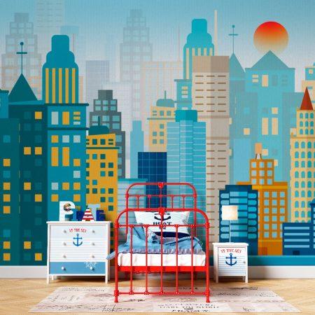 Фототапет Рисувани Сгради