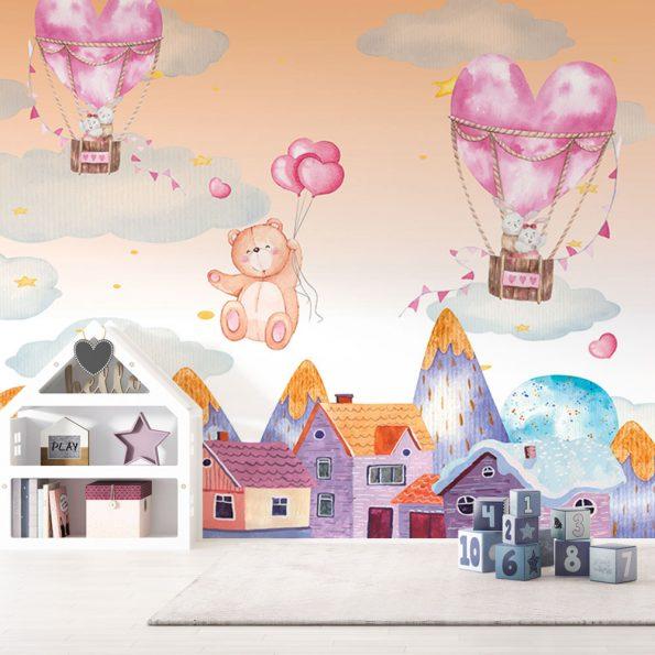 detski-fototapet-syrca-i-baloni (10)