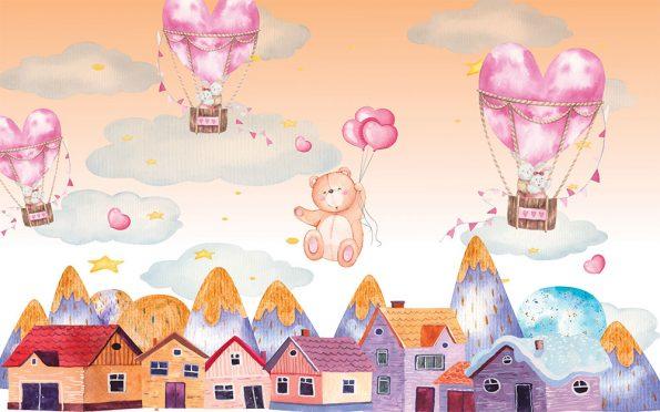 detski-fototapet-syrca-i-baloni (6)