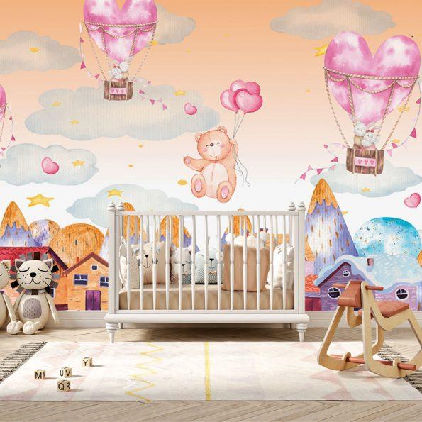 detski-fototapet-syrca-i-baloni (8)