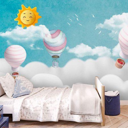 Фототапет Балони в облаците
