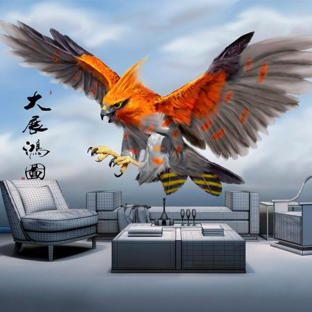 Фототапет Огнена птица
