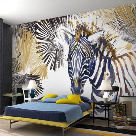 Фототапет Рисувана зебра