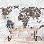 fototapet-siva-karta-na-sveta (1)
