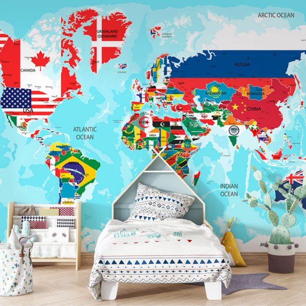 fototapet-svetovna-karta-sys-znamena (9)