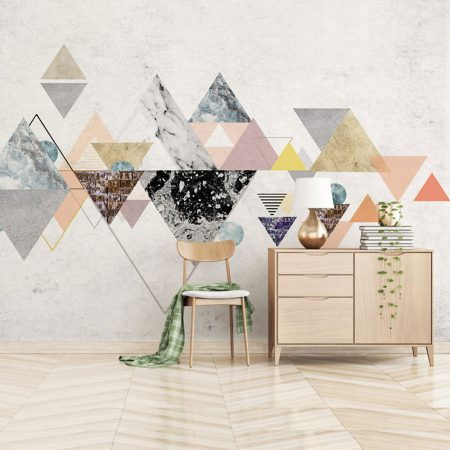 Фототапет Триъгълен мрамор