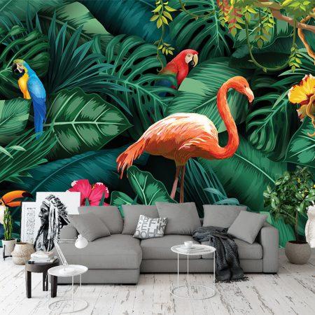 Фототапет - Тропически птици