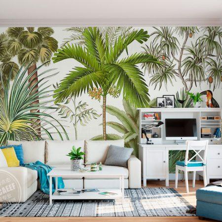 Фототапет Тропически растения